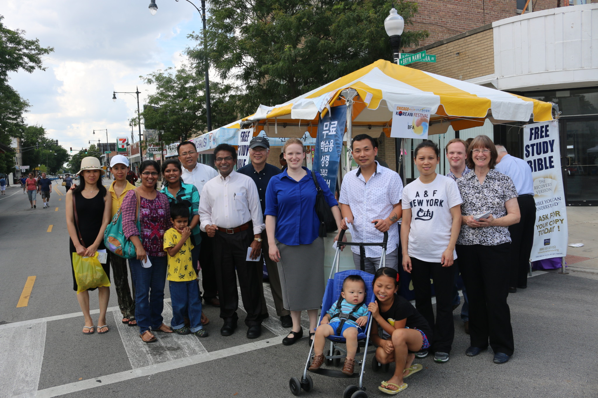 Outreach at Chicago Street Festiva