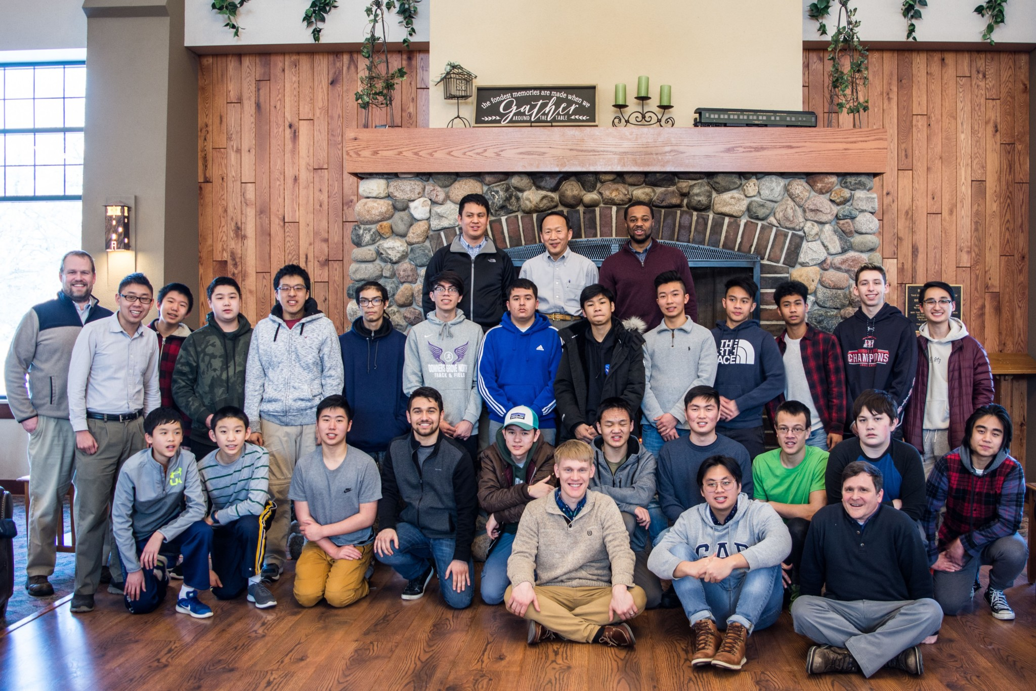 Winter Camp 2019 - High School Brothers Group