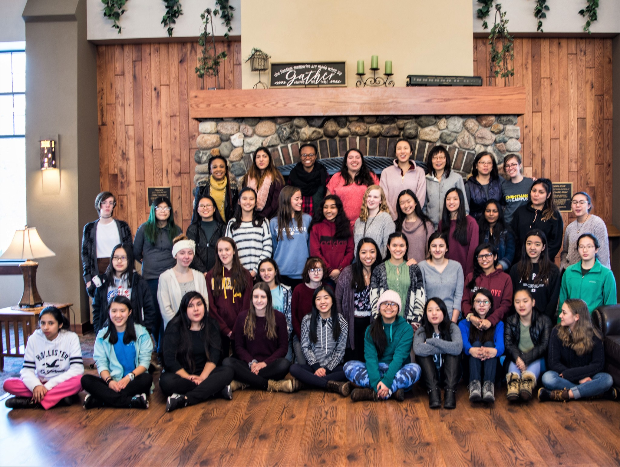 Winter Camp 2019 - High School Sisters Group